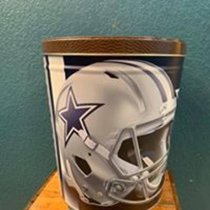 Dallas Cowboy 3 Gallon Popcorn TIn