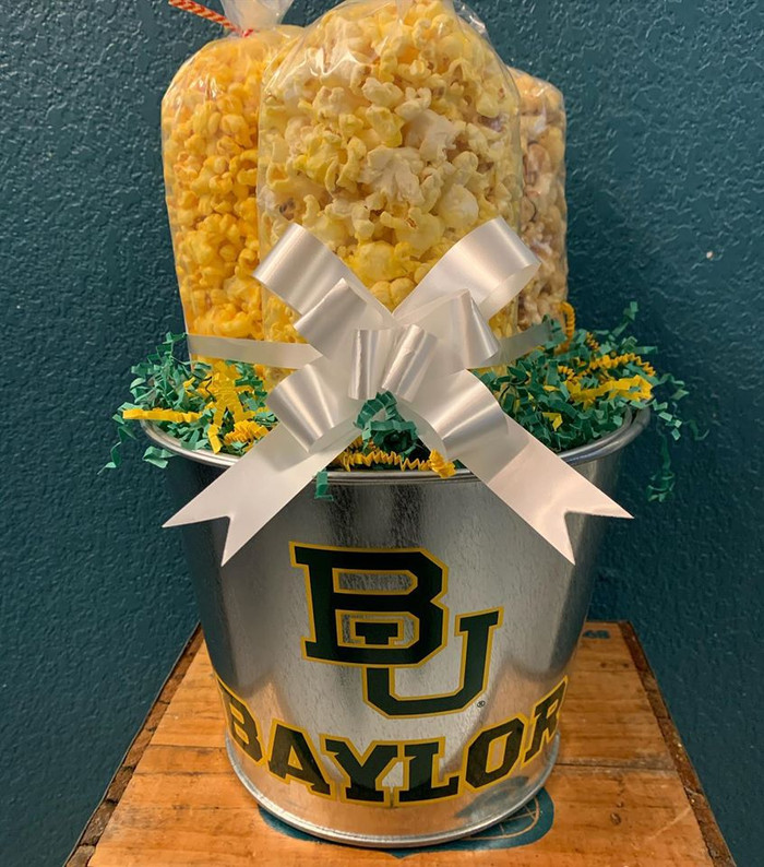 Baylor Bucket with Butter, Cheese & Caramel