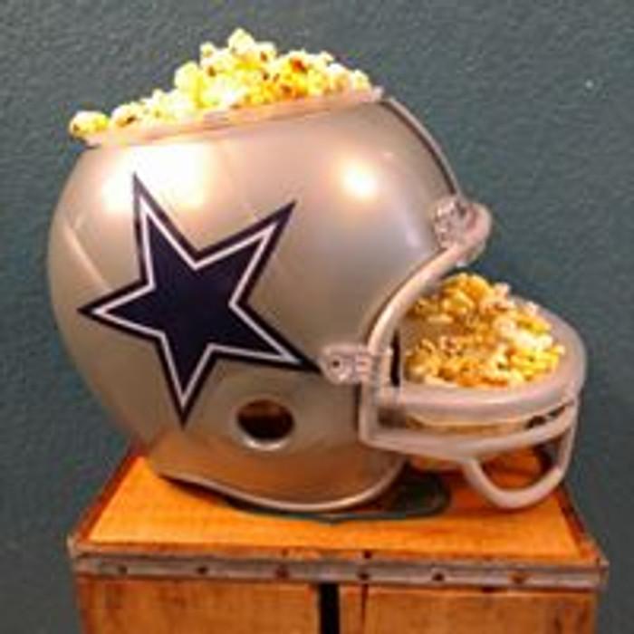 Dallas Cowboy Snack Helmet