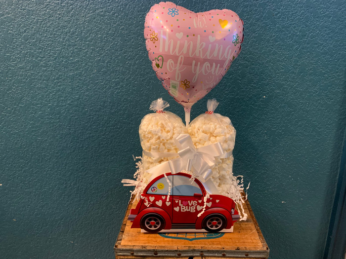 Love Bug Box w/Ranch & White Cheddar & Balloon
