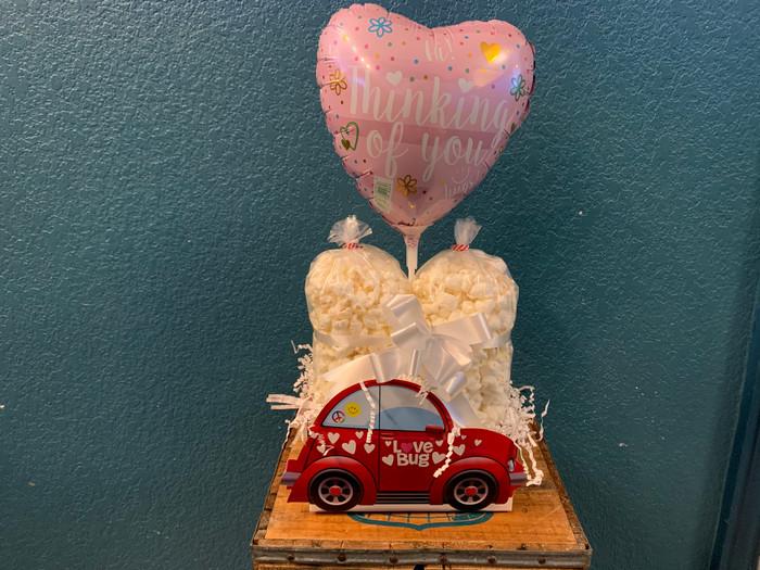 Love Bug Box w/Ranch & White Cheddar & Balloon