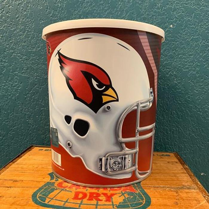 Arizona Cardinals One Gallon Popcorn Tin