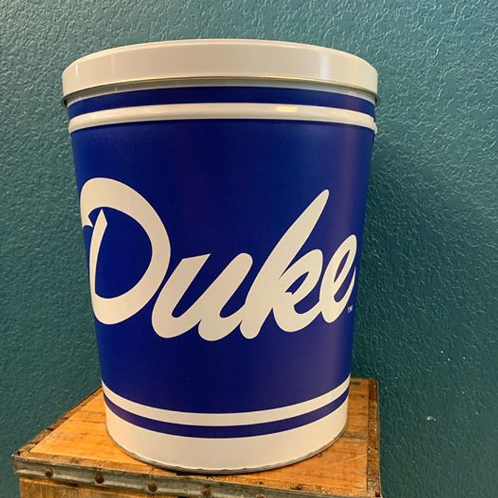 Duke University 3 Gallon Popcorn TIn