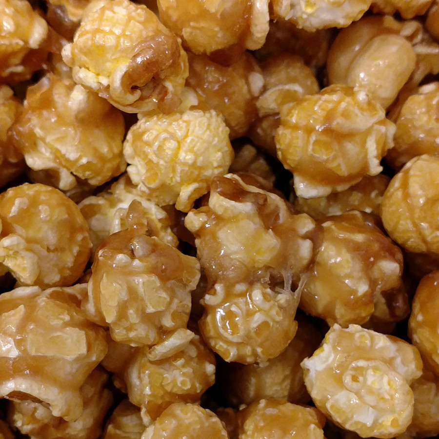 Sea Salt & Caramel Popcorn