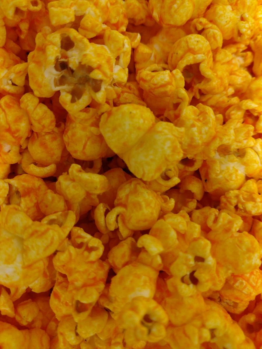 Extra Cheesy Cheese Popcorn