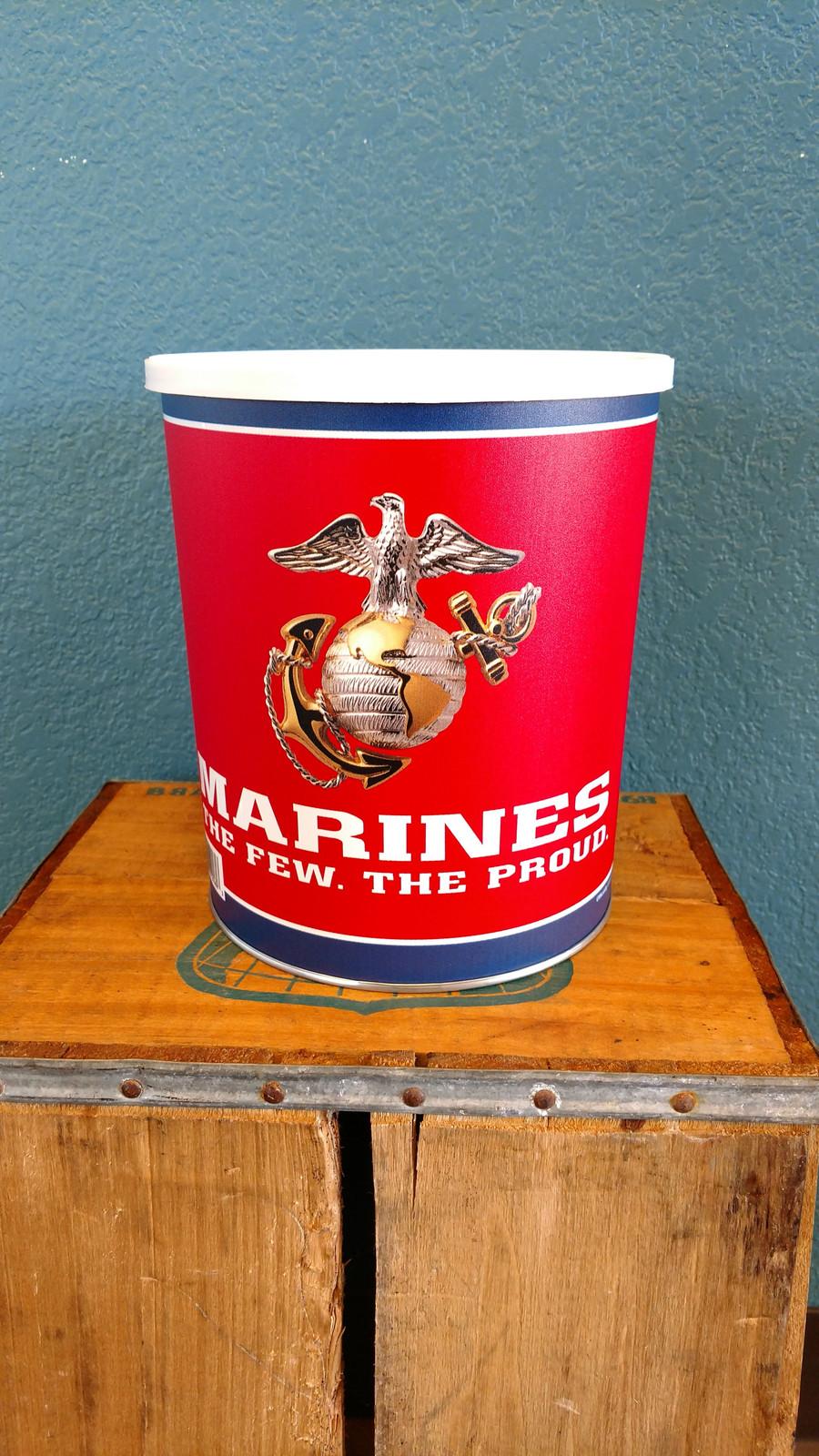 Marines 1 Gallon Popcorn Bucket