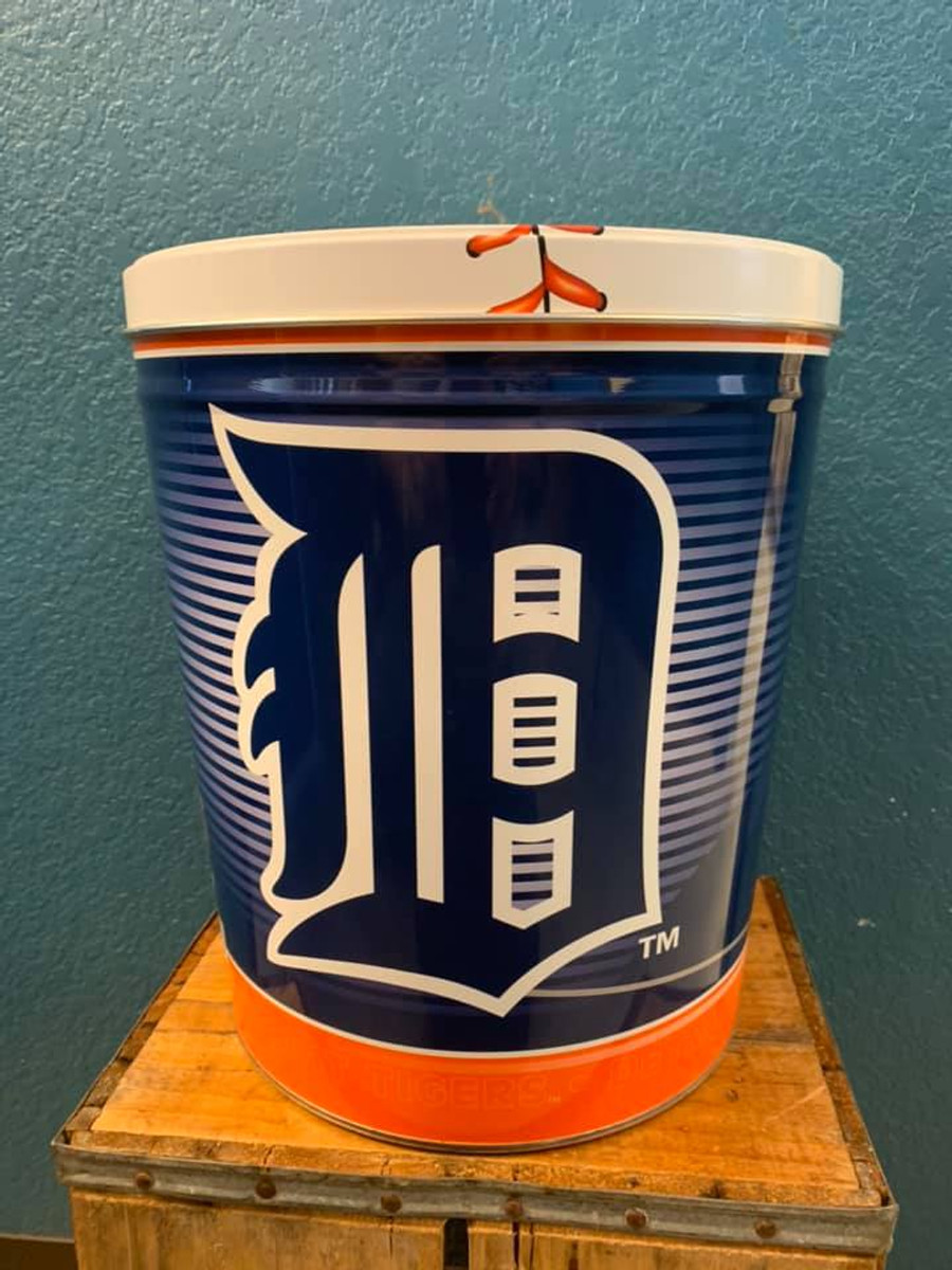 Detroit Tigers 3 Gallon Popcorn Tin
