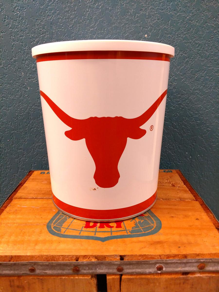Texas One Gallon Popcorn TIn