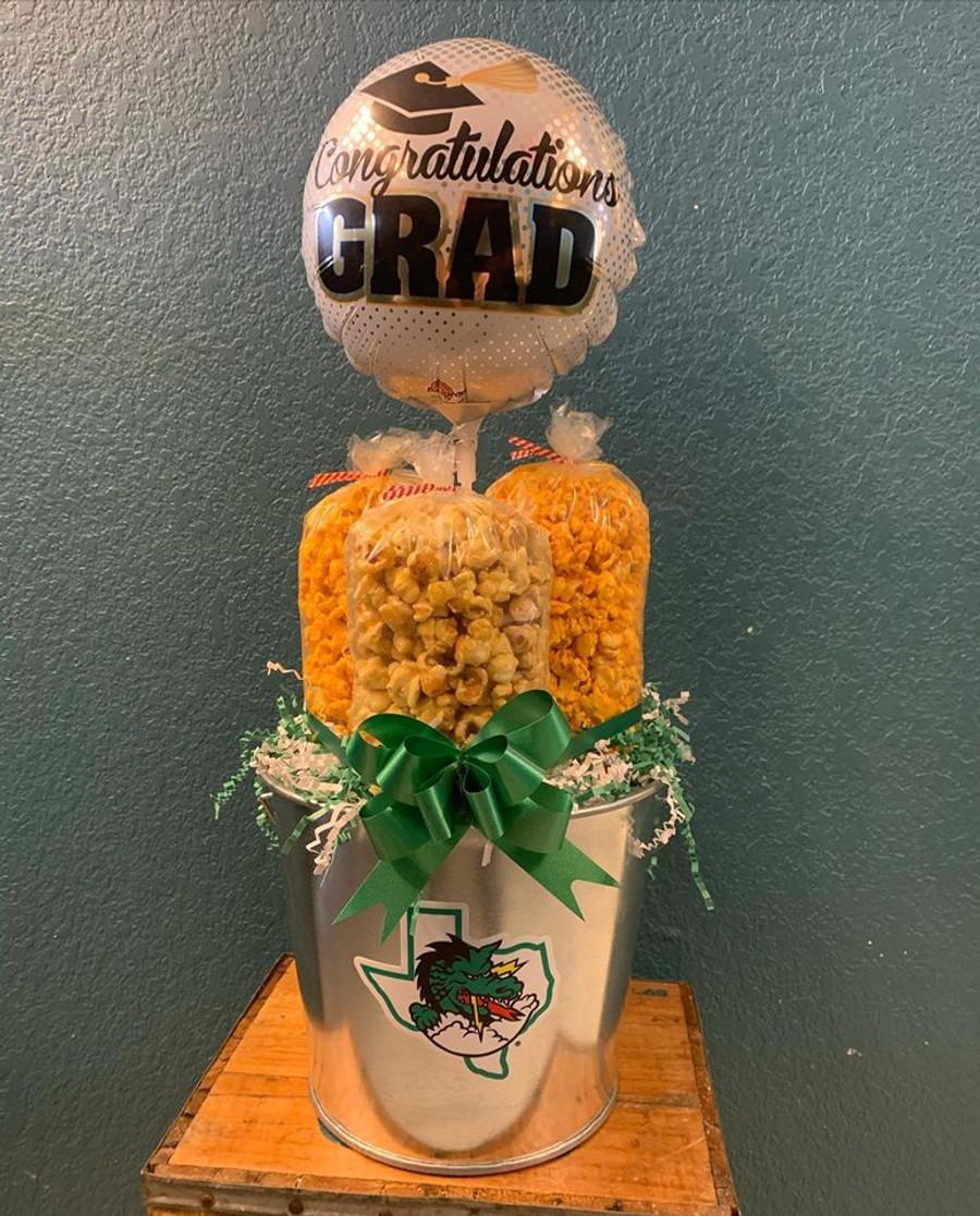 Southlake High School Bucket w/Cheese, Caramel & Cheesy Ranch