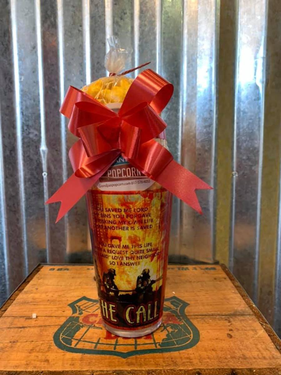 Fireman Glass Mug