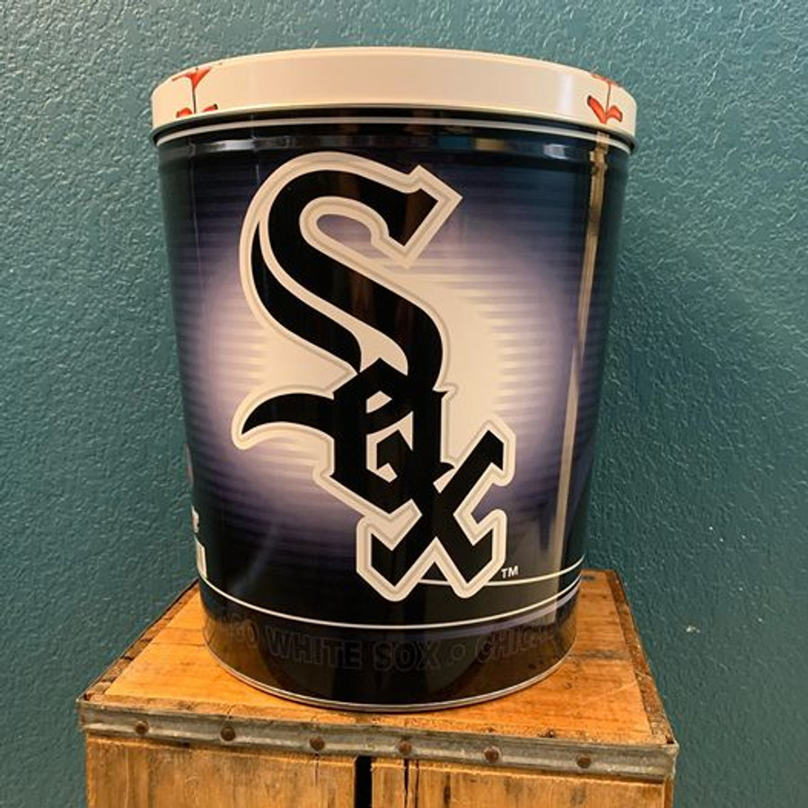 Chicago White Sox 3 Gallon Popcorn Tin