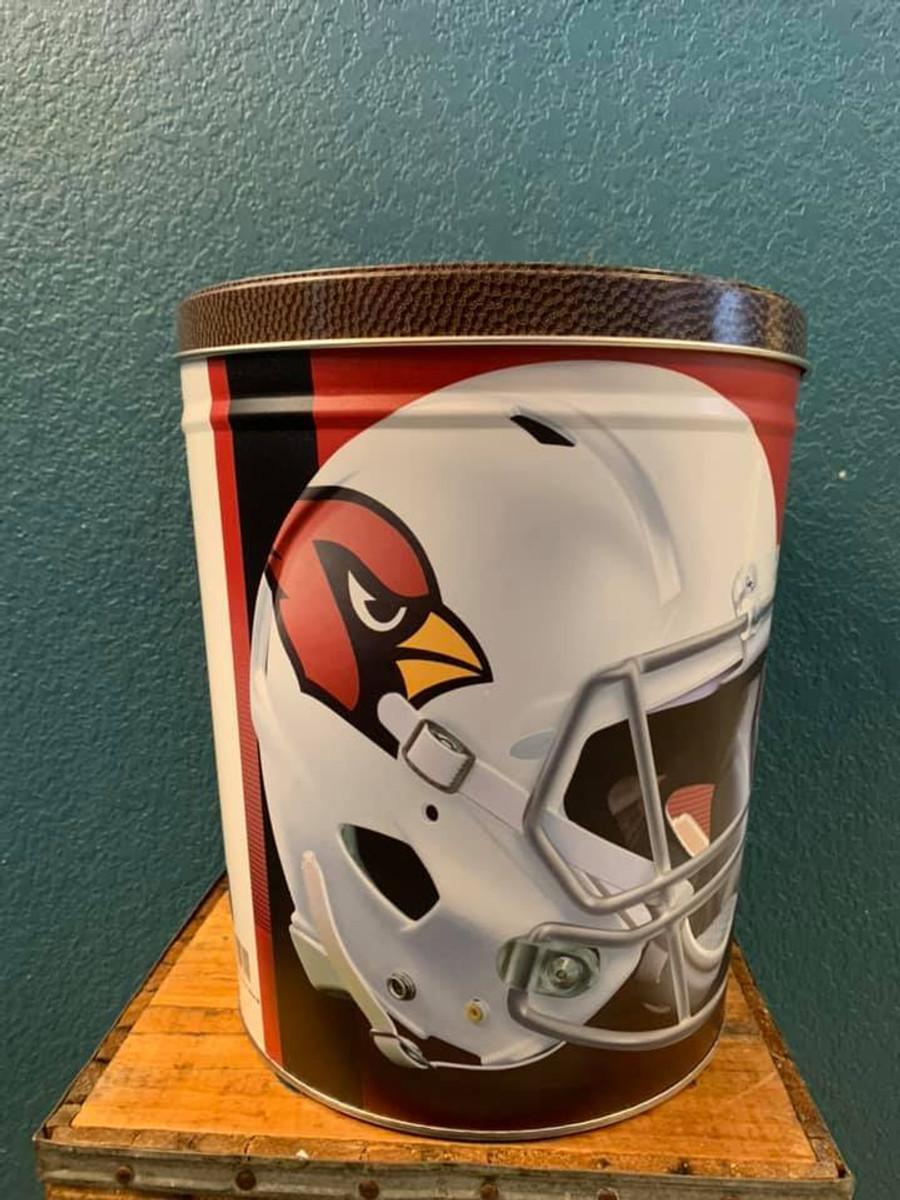 Arizona Cardinals 3 Gallon Popcorn Tin