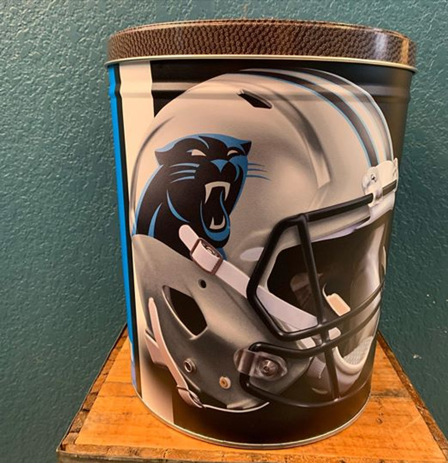 North Carolina Panthers 3 Gallon Popcorn Tin