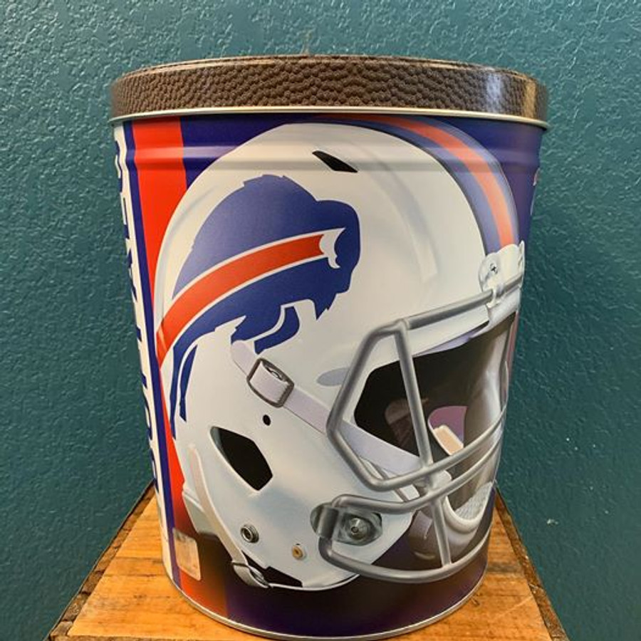 Buffalo Bills 3 Gallon Popcorn Tins