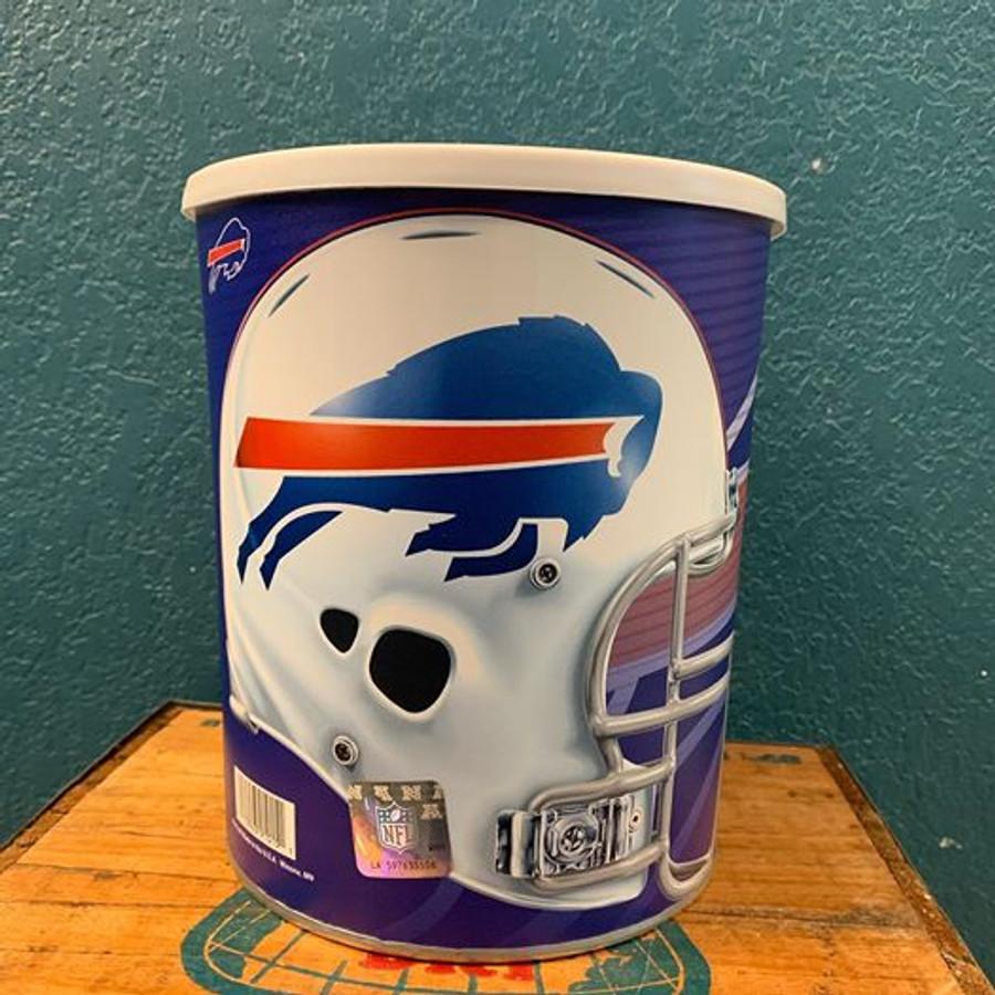 Buffalo Bills One Gallon Popcorn TIn