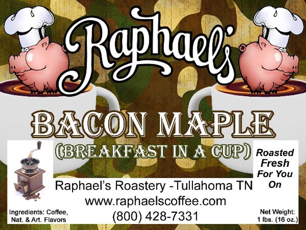 The coffee for those who love bacon - and who doesn't?
