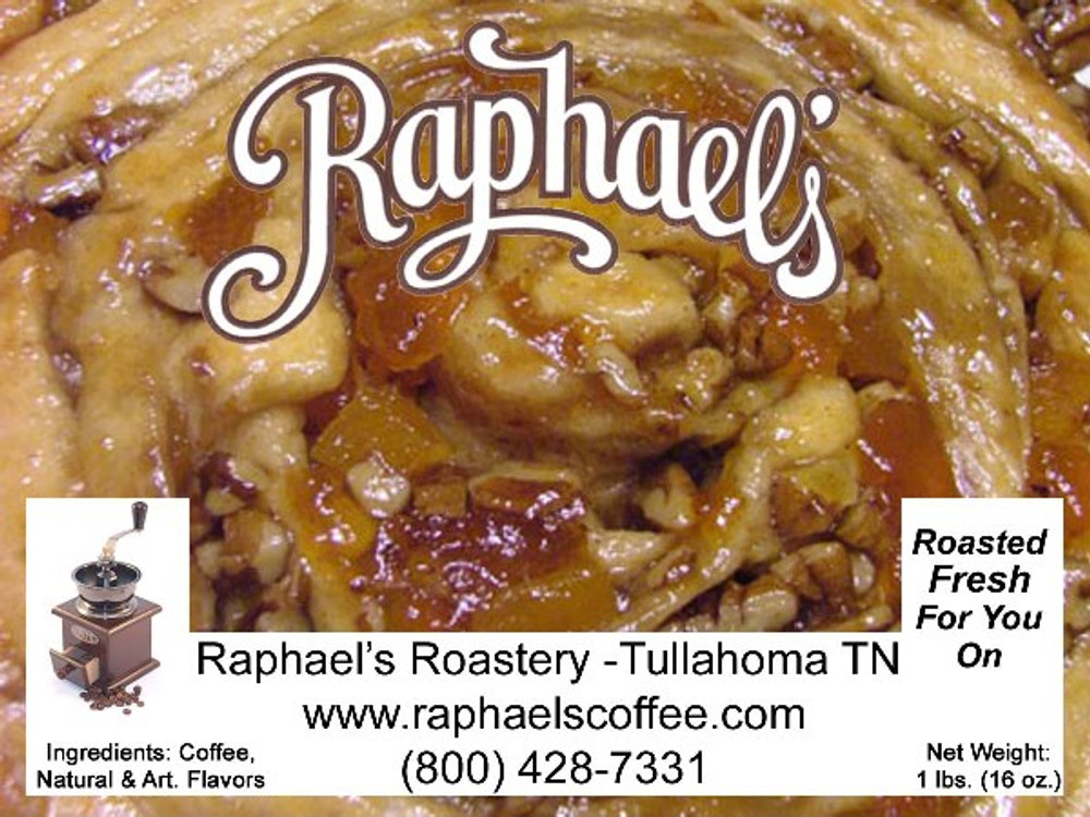 Sweet cinnamon and fresh roasted pecan pastry flavor.