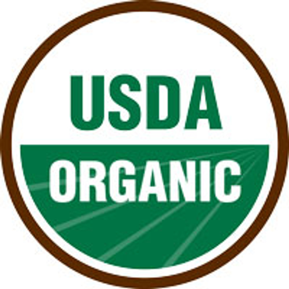 Certified organic coffee.