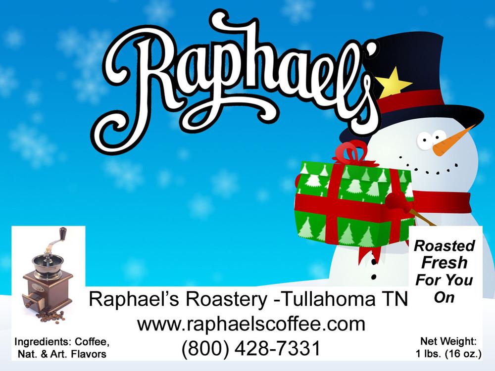 Frosty's Favorite-cinnamon, graham & creamy nut!