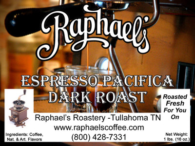 A dark roast blend of four distinct growing regions, providing a wonderful espresso.