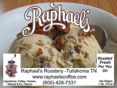 A rich butter pecan taste with real pecans*.