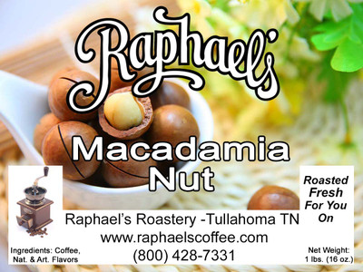 Rich macadamia nut flavored coffee!