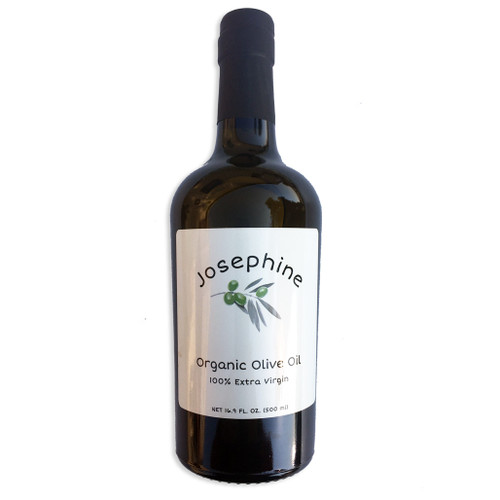 Josephine Organic Olive Oil Bottle