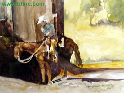 Cowboy by Sharleen Robson