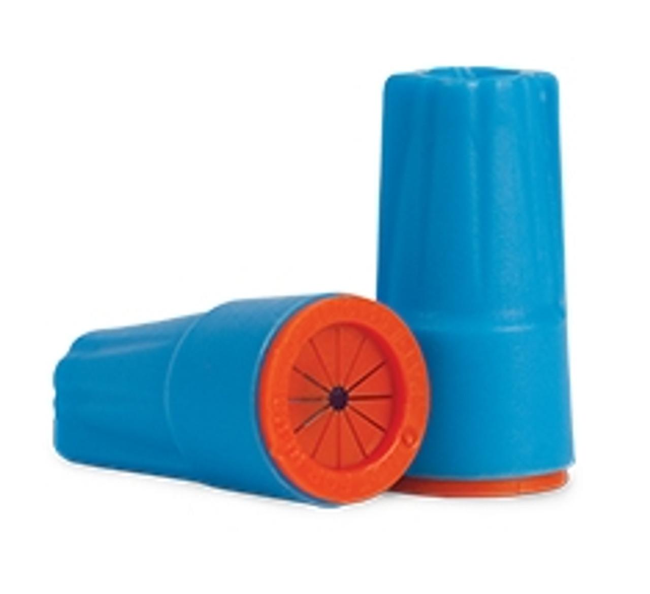 62135 - Aqua/Orange 100 pc. Bag