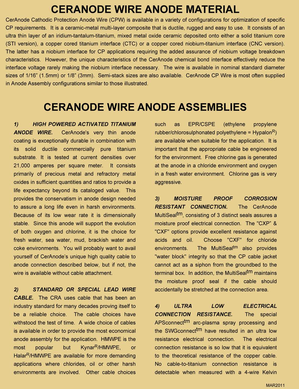 Titanium Oxide Anodes