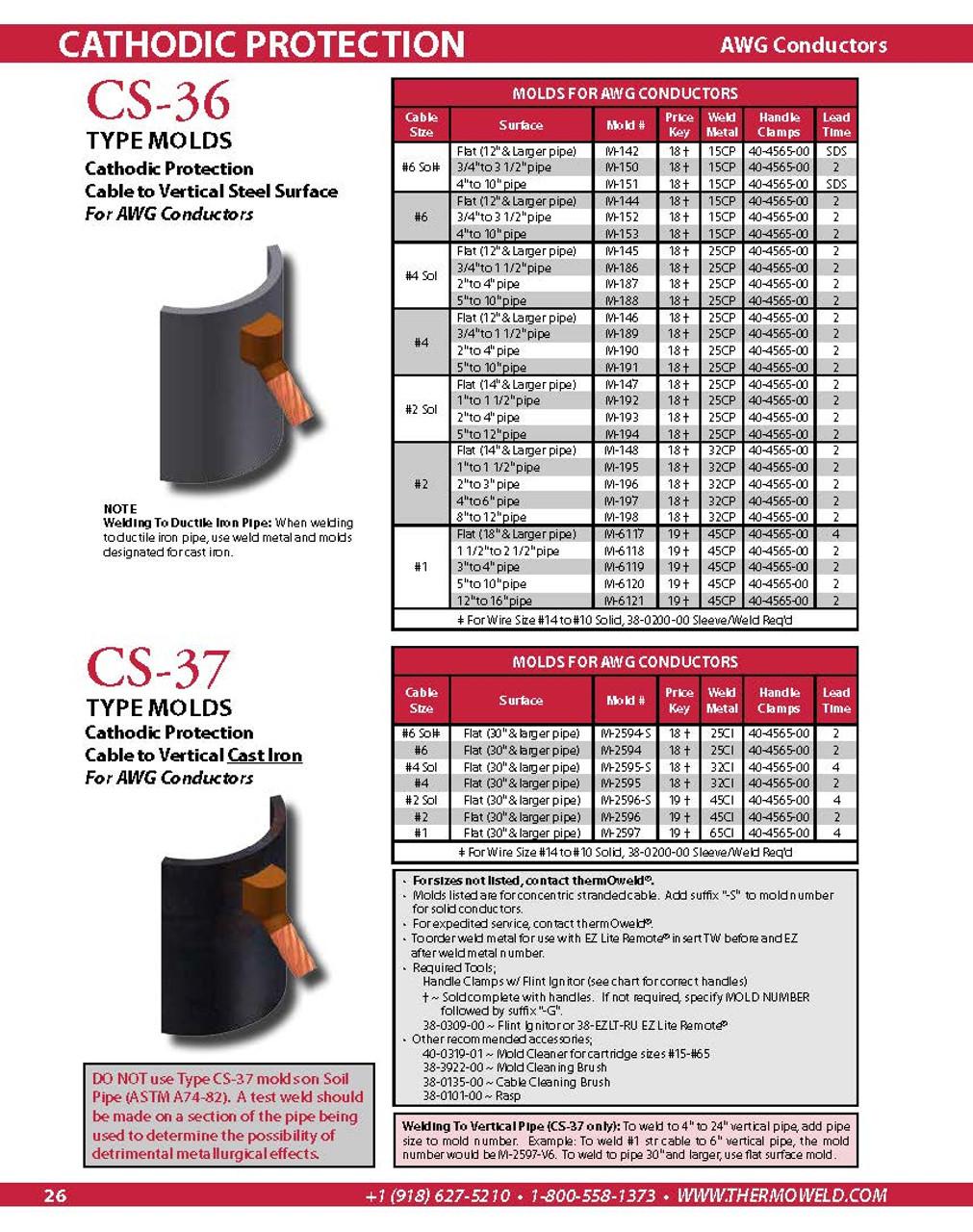 thermOweld® Cathodic Protection Catalog