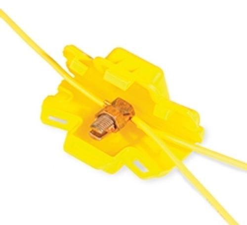 69205 - Split Bolt Housing Yellow 10 pc. Bag