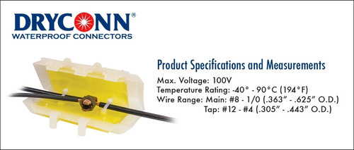 DryConn Visilock® w/SmartGel®  Anode Splice Box