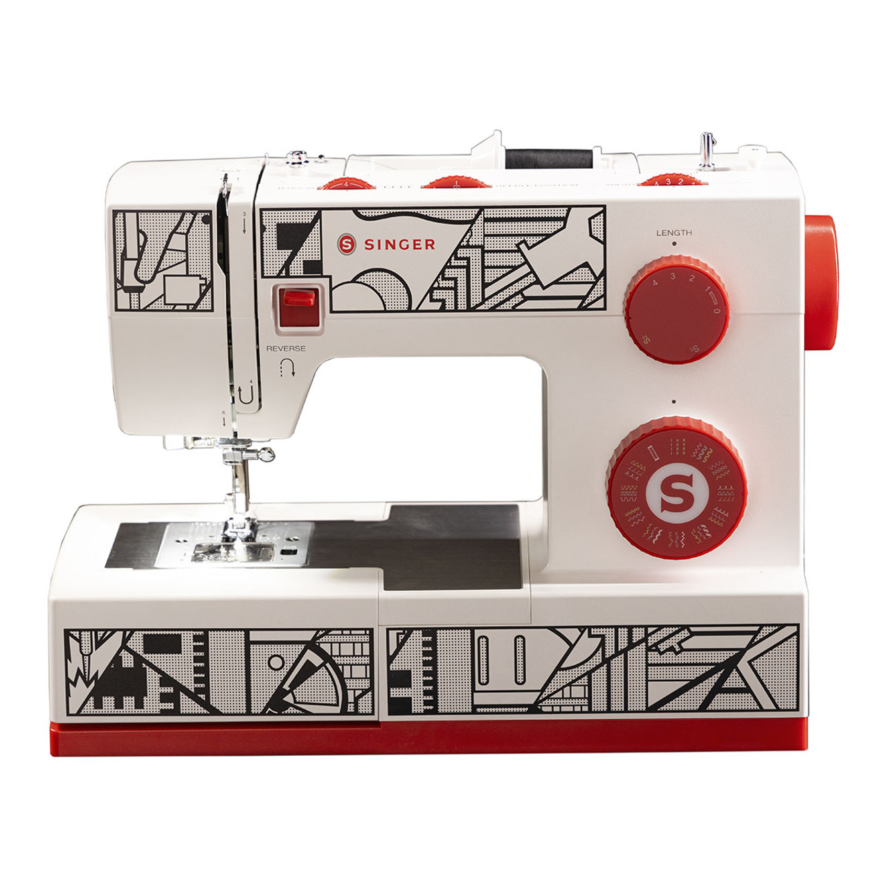Singer Cosplay CP6355M Sewing Machine front view