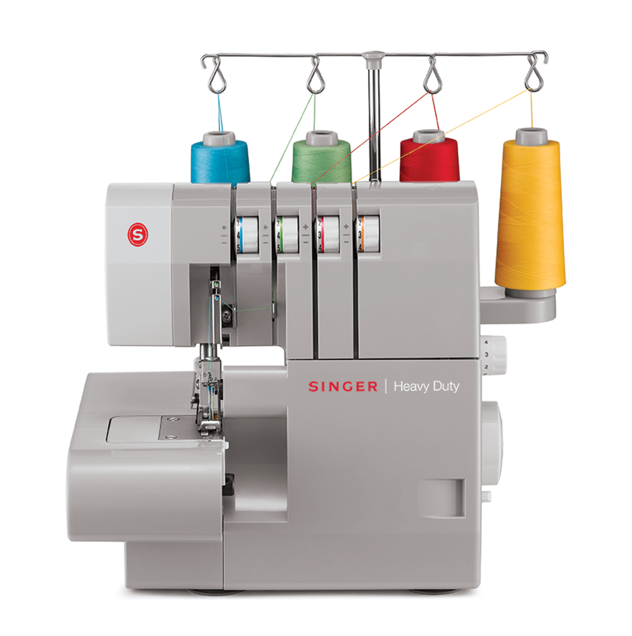 Singer Heavy Duty Combo HD4411 Sewing Machine and 14HD854 Overlocker