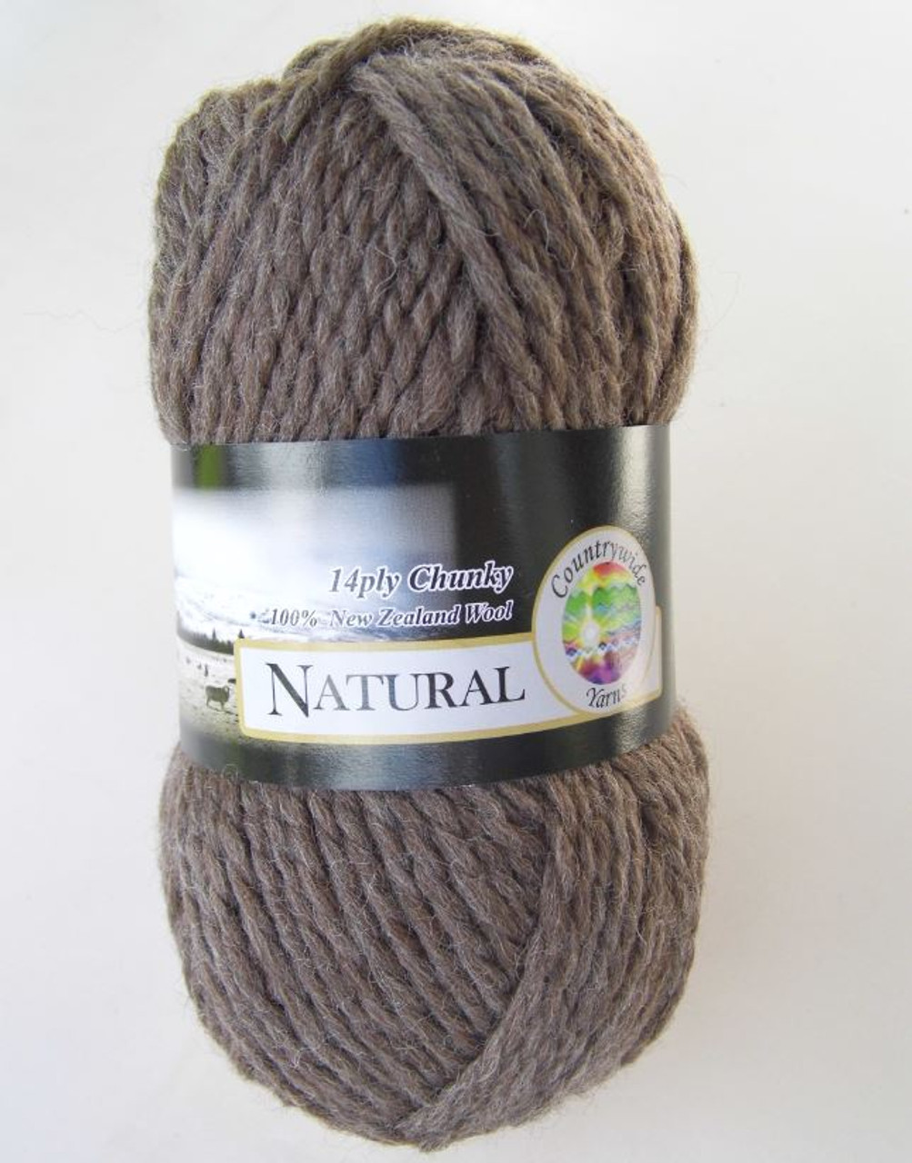 Countrywide Naturals 8ply Wool 100gm Colour 105