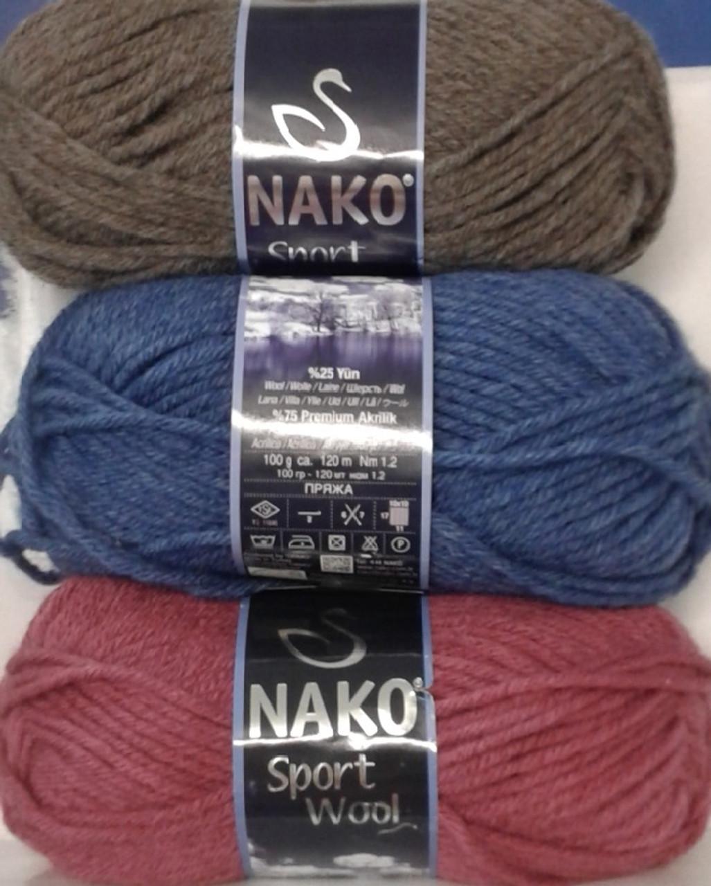 Nako Sport 14ply Wool Blend 100gm