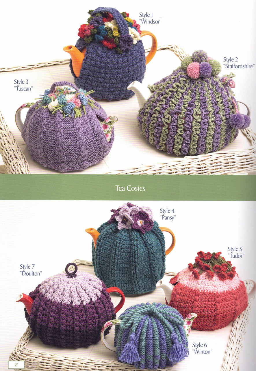 Big Book of Small Projects 2 tea cosies