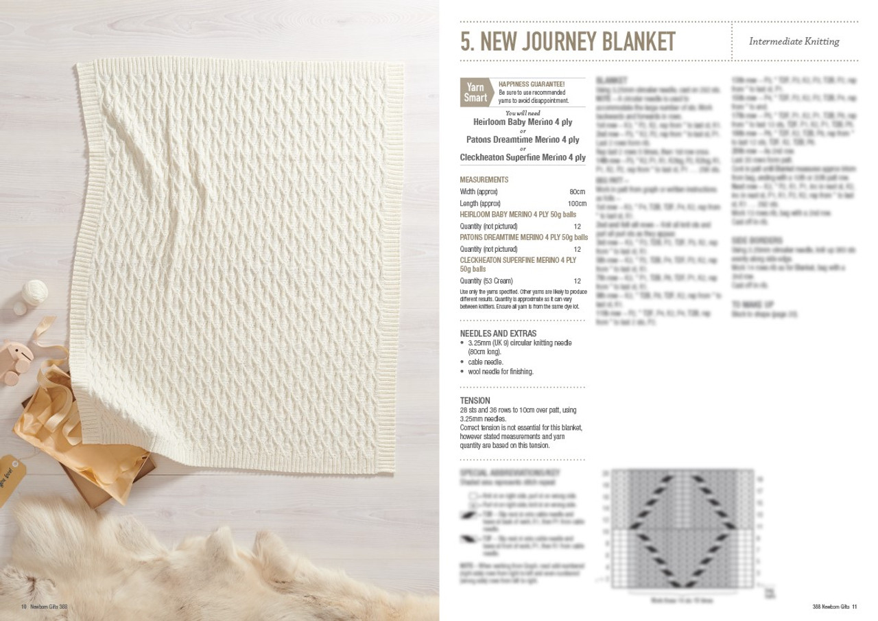 368 Newborn Gifts style 5 new journey blanket