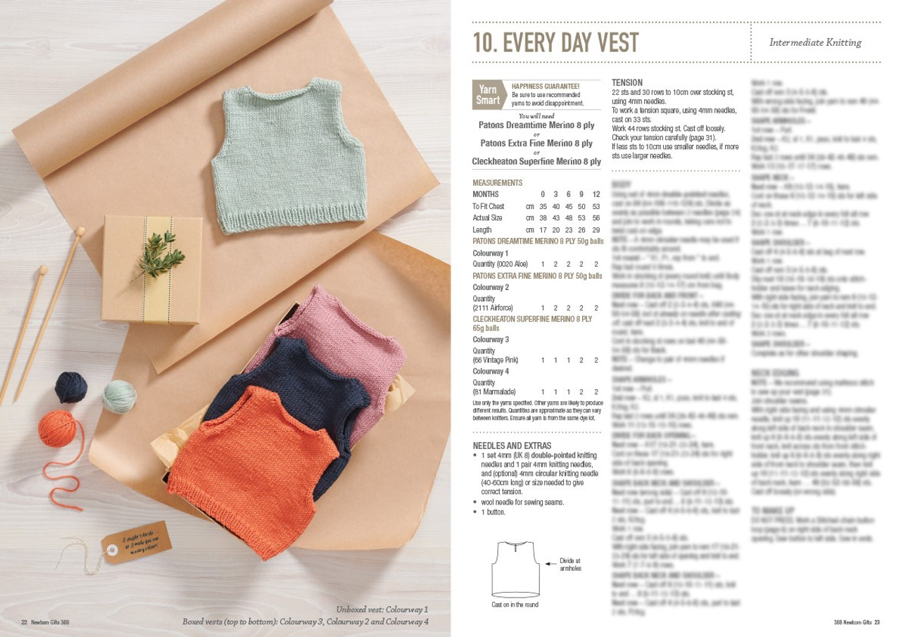 368 Newborn Gifts style 10 every day vest