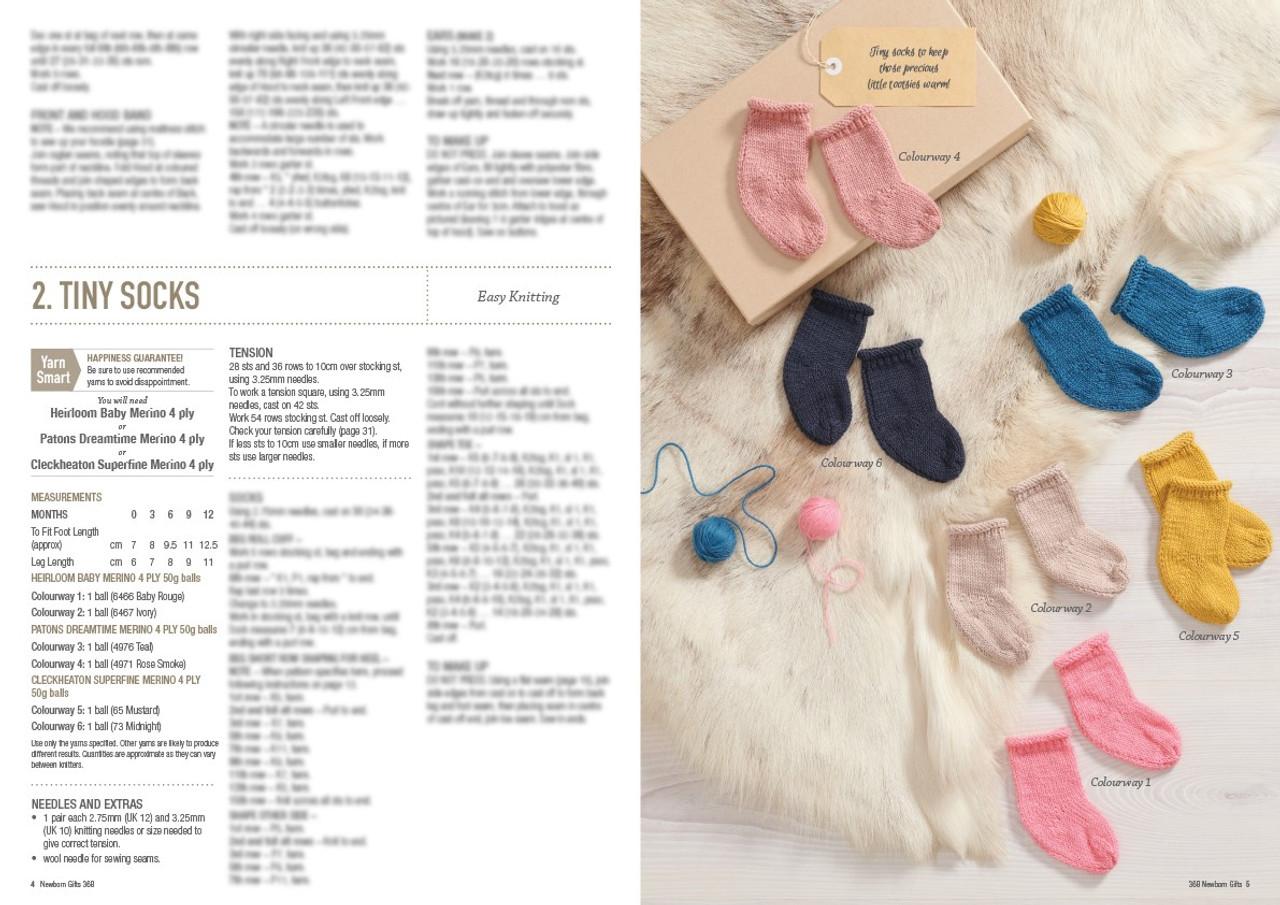 368 Newborn Gifts style 2 baby socks