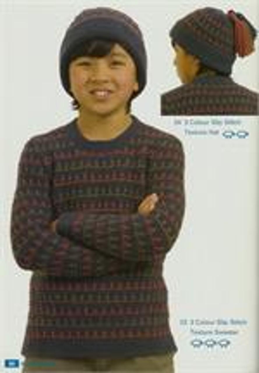 Moda book issue 5 designs 23 slip stitch jumper 24 hat