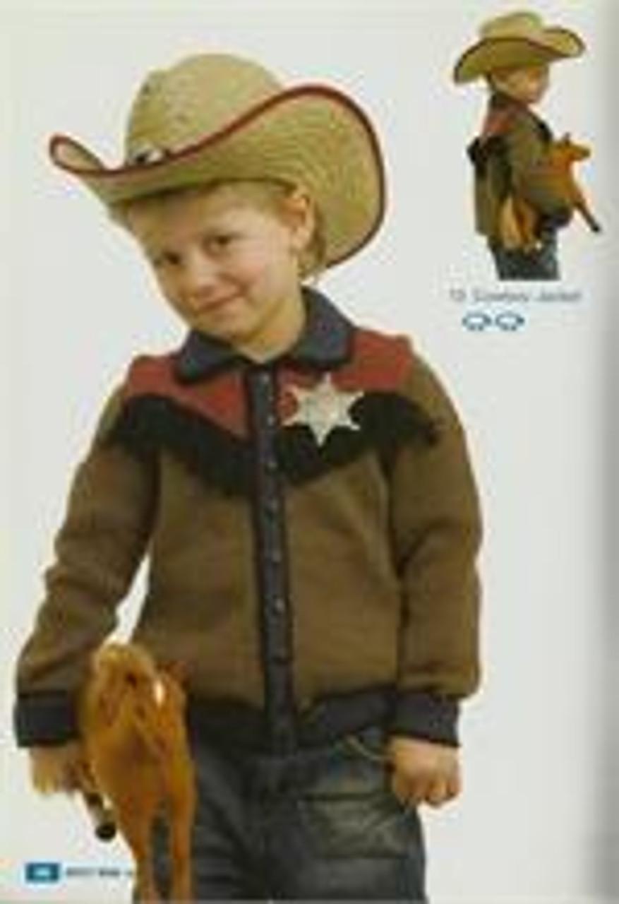 Moda book issue 5 designs 13 cowboy jacket