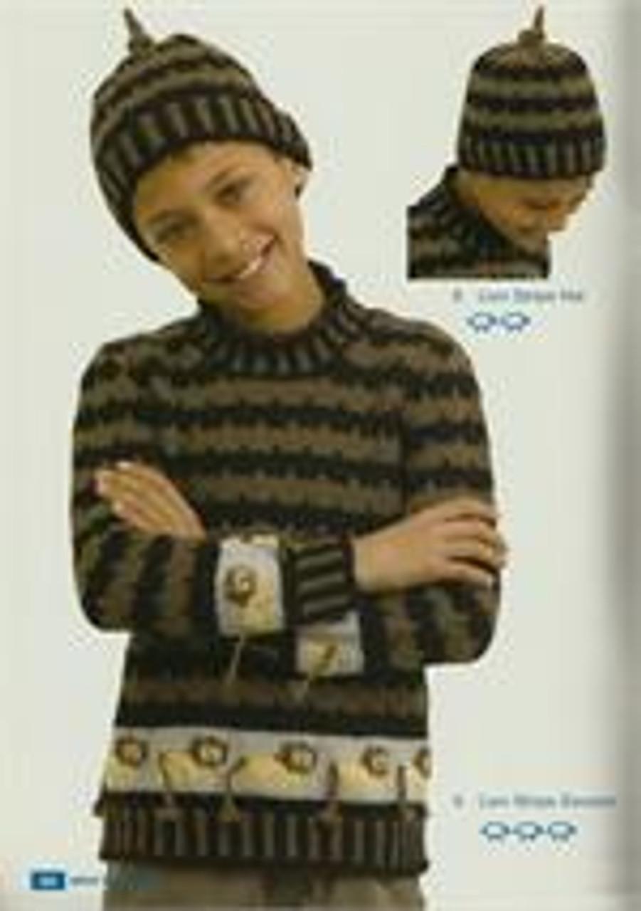 Moda book issue 5 designs 5 lion jumper 6 beanie
