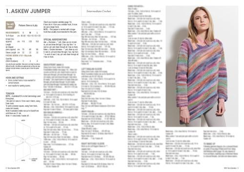 8031 Sierra Splendour 6 garments in 8ply knit & crochet