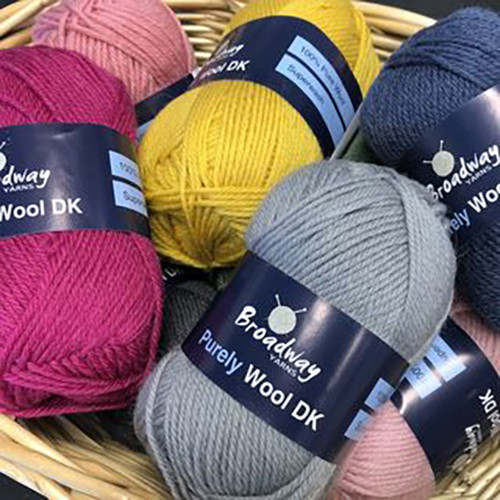 Broadway Purely Wool 8ply 50gm