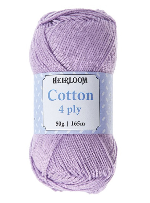 Heirloom Cotton 4ply 50gm