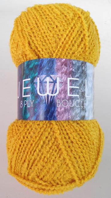 Jewel Boucle 8ply Acrylic 100gm Colour 52