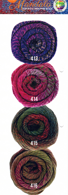 Mandala 4ply New Colours
