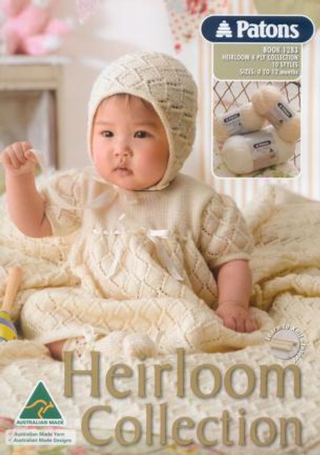 1283 Heirloom 4ply collection front cover